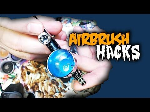 Easy Airbrush Hacks - Actually Paint With Your Airbrush - Bell of Lost Souls