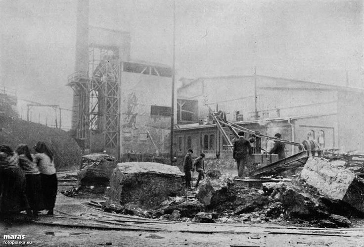 Huta Pokój (Friedenshütte), Ruda Śląska - 1910 rok, stare zdjęcia