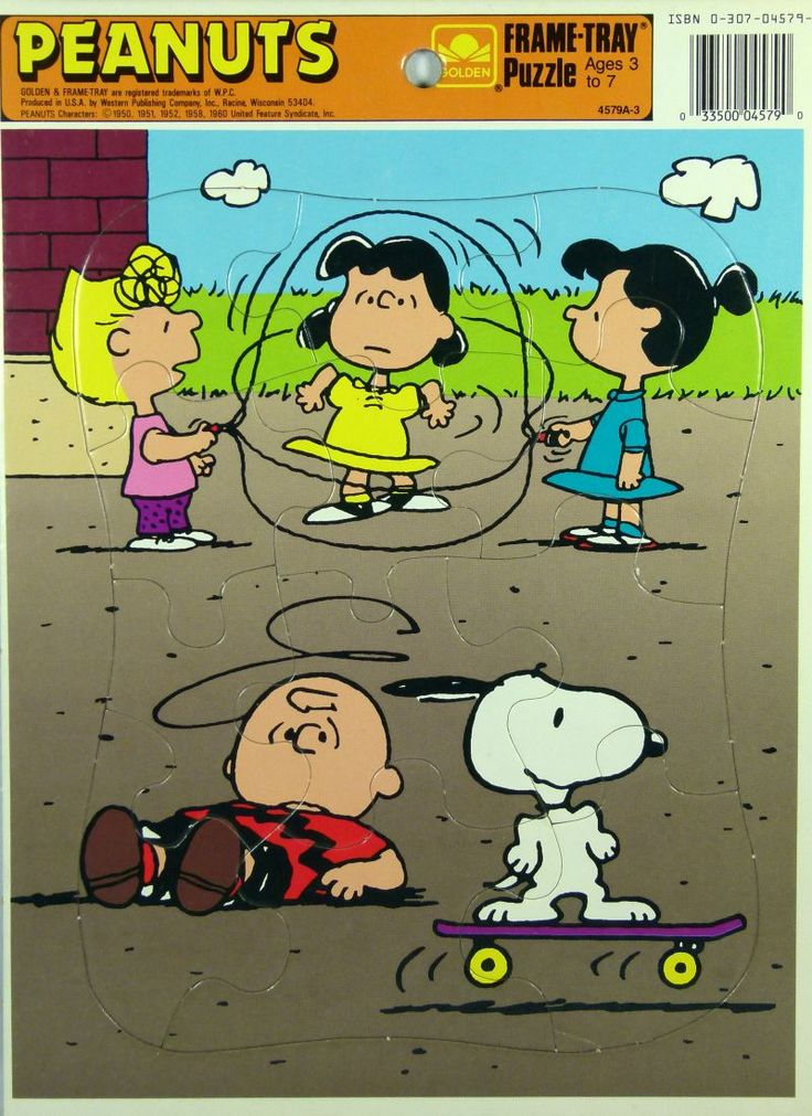 Love the Peanuts Gang.