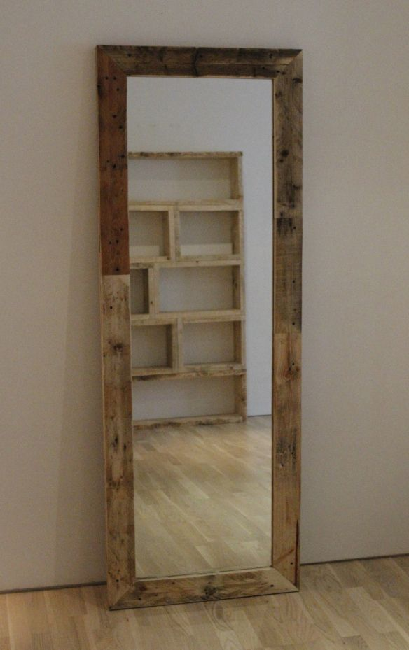 1000 Images About Pallet Mirror Ideas On Pinterest