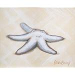Beach Baby Starfish Canvas Reproduction
