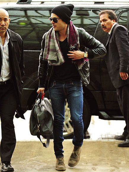 I've never given a flying F about Zac Efron, and I can't even be sure he picked this out, but that's a high quality Man Outfit.