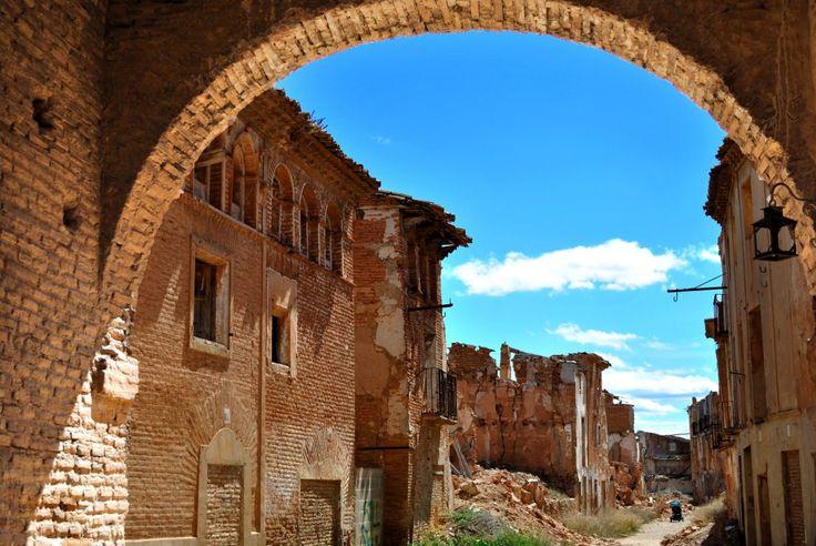 Belchite, el pueblo abandonado de la provincia de Zaragoza