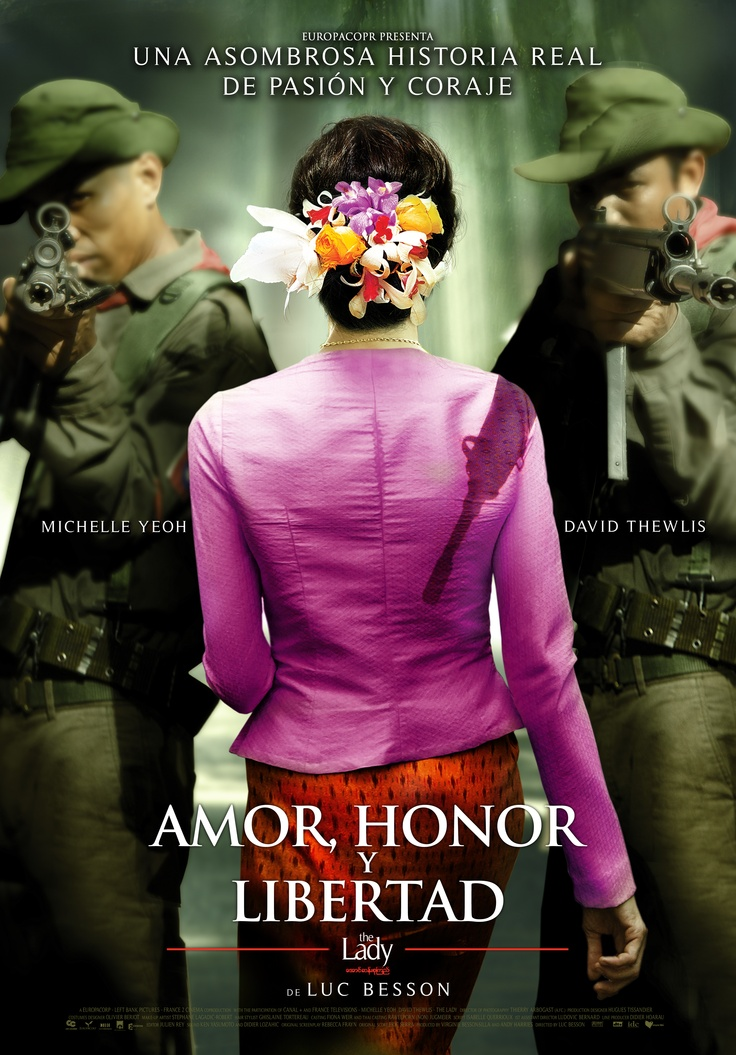 Amor, honor y libertad | The Lady  Director: Luc Besson