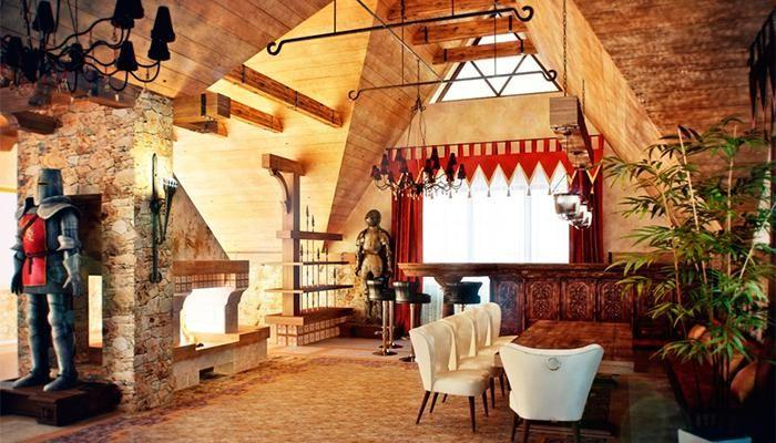 Интерьер в средневековом стиле: фото 3