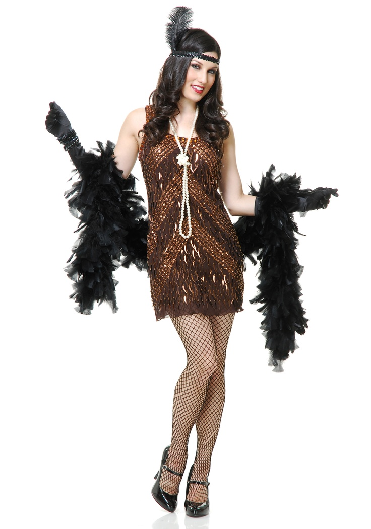 womens brown sugar flapper costume - Best Halloween Costume Ideas For Women