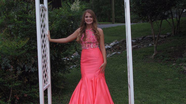 Formal gown Sarah Allen