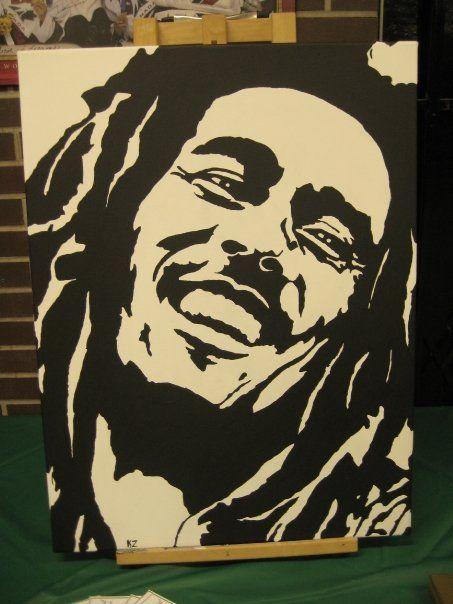 *Bob Marley* More fantastic paintings, pictures and videos of *Bob Marley* on: https://de.pinterest.com/ReggaeHeart/ ©Katouz/ http://katouz.newgrounds.com/art/