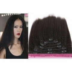 Crazy Virgin Kinky Straight Custom Made Clip-in Hair Extensions  http://www.ishowigs.com/crazy-virgin-kinky-straight-customed-clip-in-hair-extensions-hec20141004.html