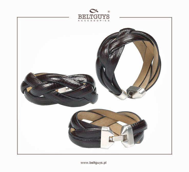 Nowość! Eleganckie plecione bransoletki! Na www.beltguys.pl! #bracelets #bracelet #women #woman #fashion #leather