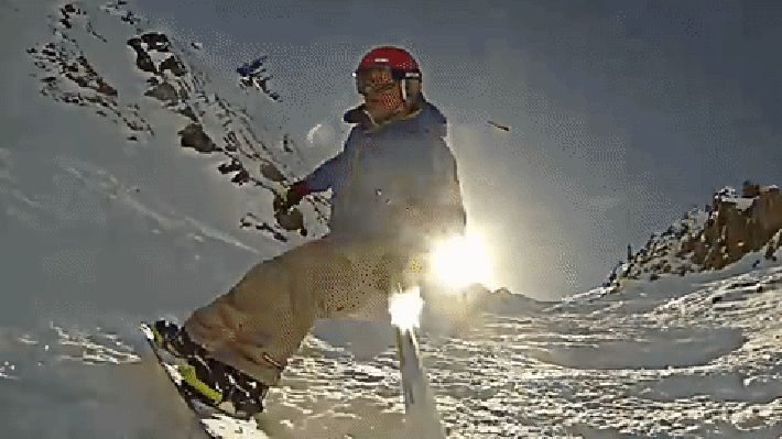UFO Spotters Claim Snowboarders GoPro Footage Has Captured Proof Of Aliens