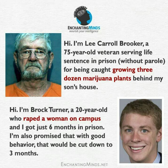 Justice system is in much needed repair...What? Justice for Lee Carroll Brooker! Longer Prison Term for Brock Turner!!! We want Redemption for Brock Turners victim  :(