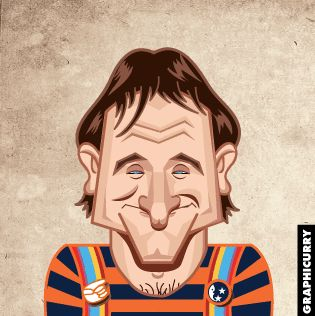 Robin Williams brought joy to the whole world. The Oscar winner would have been 65 years old today, so Prasad Bhat from Graphicurry made a GIF, compiled of his most notable characters to celebrate the occasion.