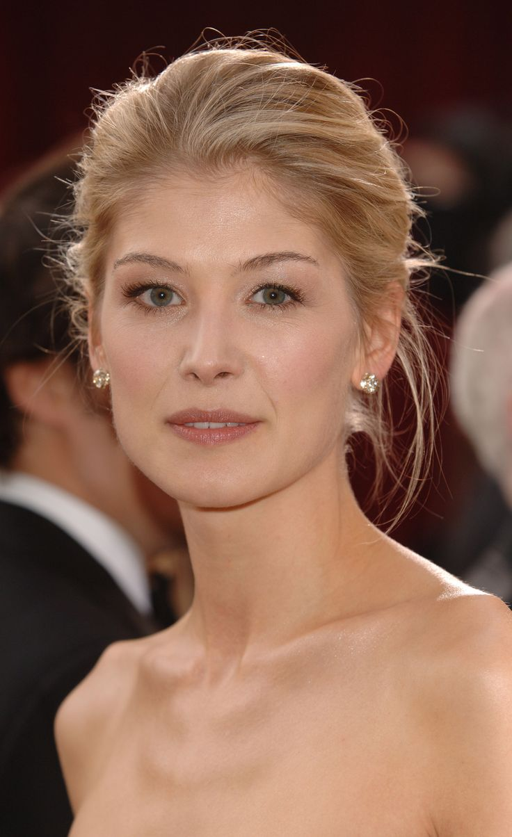 Rosamund Pike I know her from Pride & Prejudice and Jack Reacher. She is also filming Gone Girl to be released in 2014!