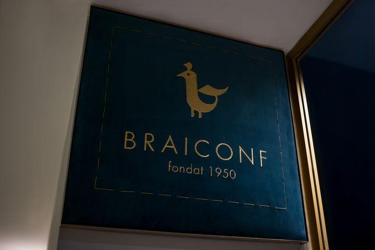 Măiastra pasăre Braiconf, acesta este noul logo Braiconf.
