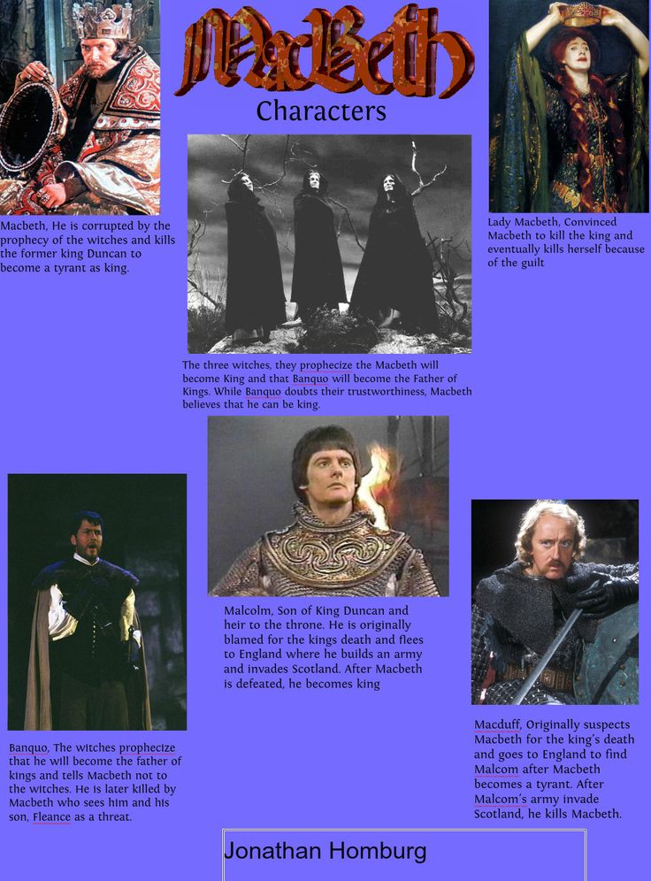 the witches influence on macbeth to kill duncan The witches' influence on macbeth  on mortal thoughts (1540-41) to aid her in  her plot to overcome her husband's reluctance and to force him to kill duncan.