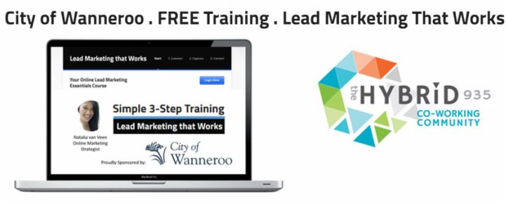 Free business training sponsored by City of Wanneroo