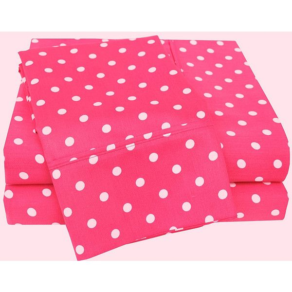 polka dot twin xl sheet set 59 liked on polyvore featuring home