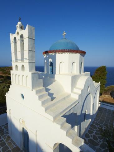 Panagia Poulati Monastery, Sifnos island ~ Greece