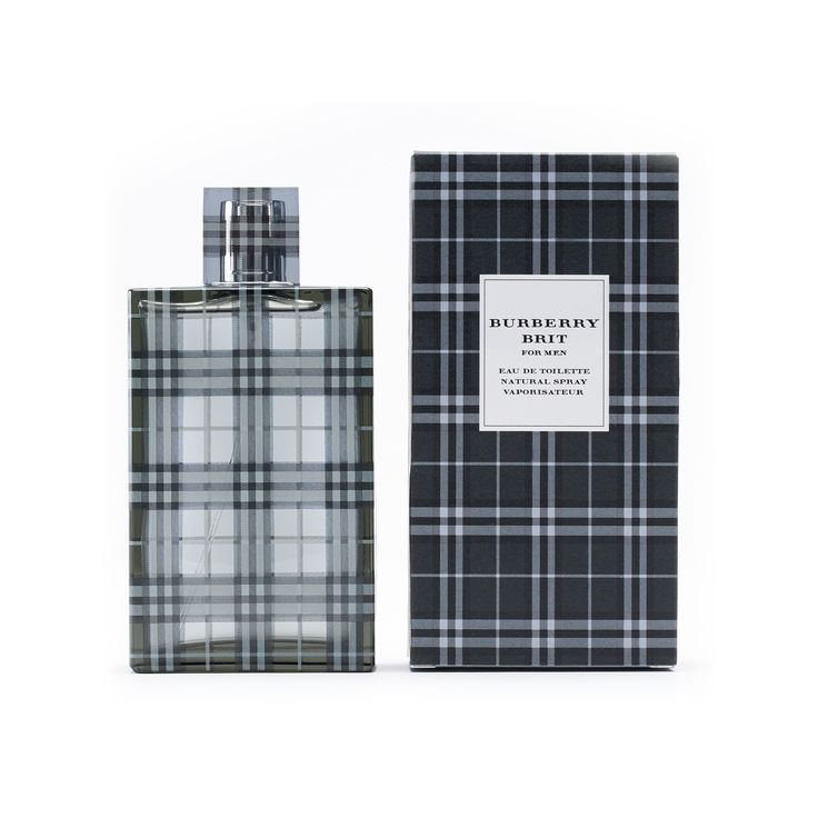 Burberry Brit Men's Cologne - Eau de Toilette, Multicolor