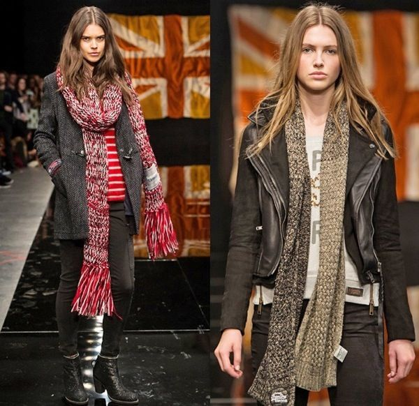 Модные вязаные шарфы, снуды, платки и шали сезона осень-зима 2014–2015