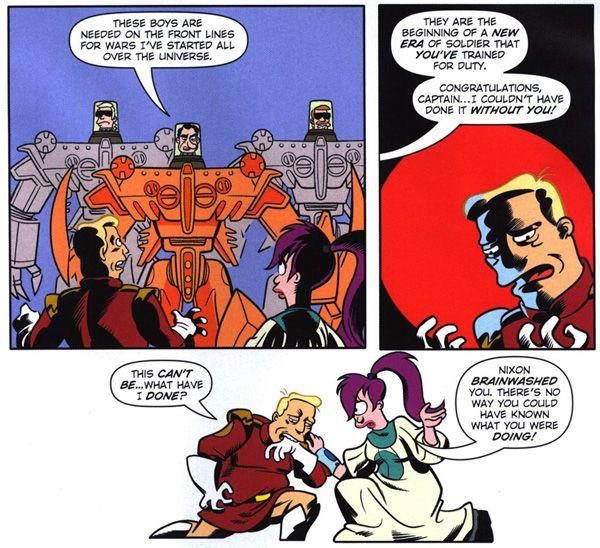Futurama Comics #41 (Bongo, 2009), script by Eric Rogers, art by John Delaney…