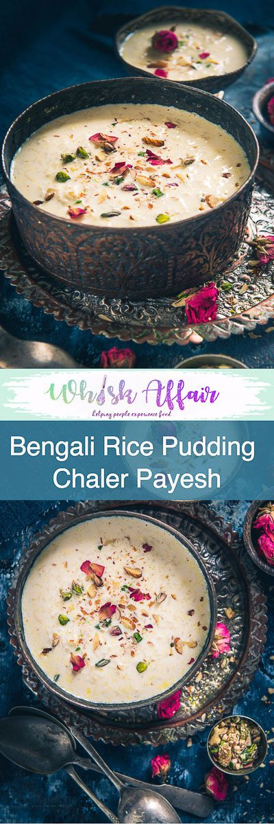 Bengali Chaler Payesh is a rice-based pudding made on several occasions of Bong community such as baby showers, birthdays, house-warming ceremonies et al. #Diwali #DiwaliRecipe #DiwaliRecipes #IndianRecipes #IndianSweetRecipes #IndianDessertRecipes #IndianFestival #IndianFestivalIdeas #DiwaliIdeas #BengaliRecipes #BengaliCuisine via @WhiskAffair