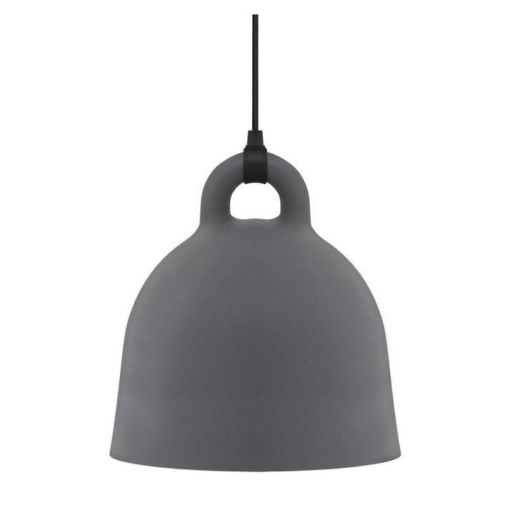 Bell lampa, grå i gruppen Belysning / Lampor / Taklampor hos RUM21.se (112966r)