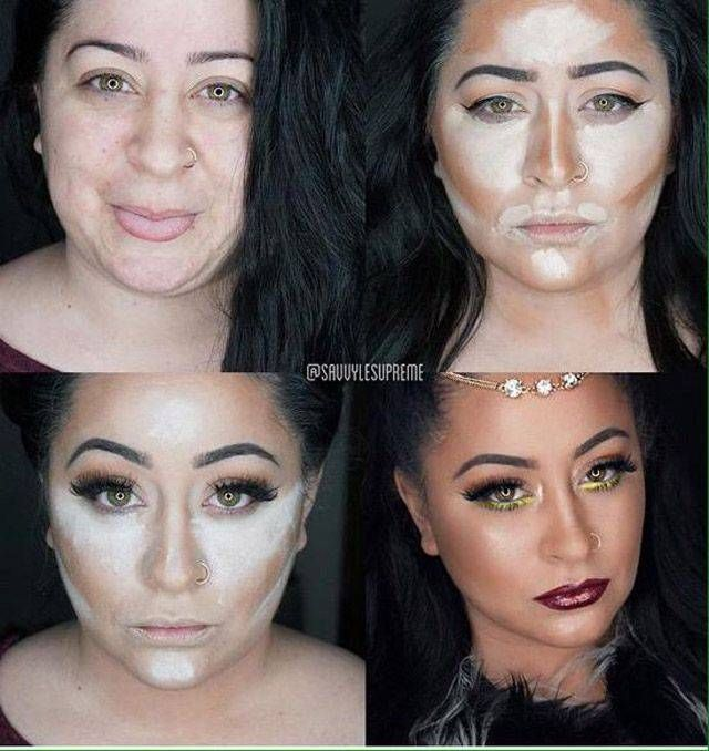Best Makeup Before And After Ideas On Pinterest Basic Makeup - Before and after makeup photos