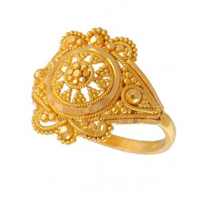 Meena Jewelers- Gold filigree ring