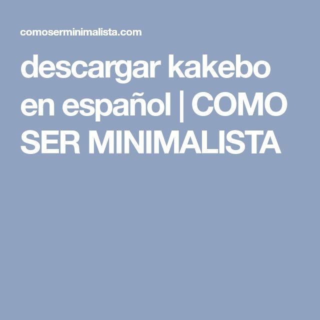 descargar kakebo en español | COMO SER MINIMALISTA Money, Student, Minimalism, Silver