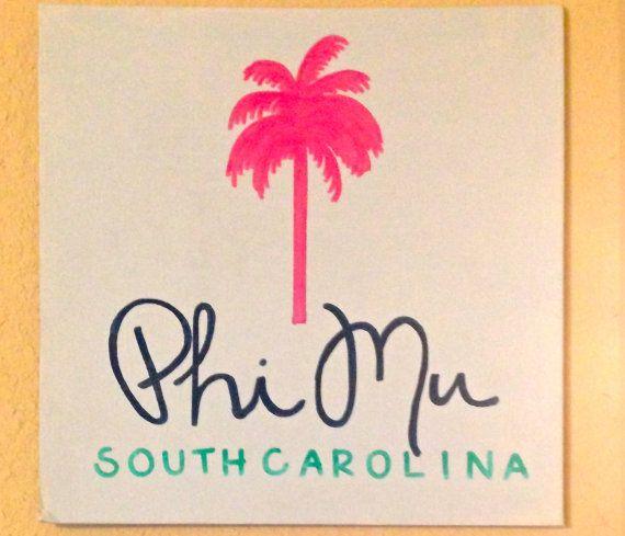 Phi Mu Canvas - South Carolina