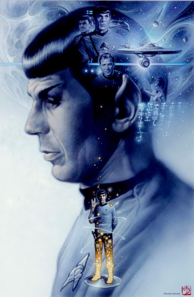 Spock (and those who helped shape him) - loving this!