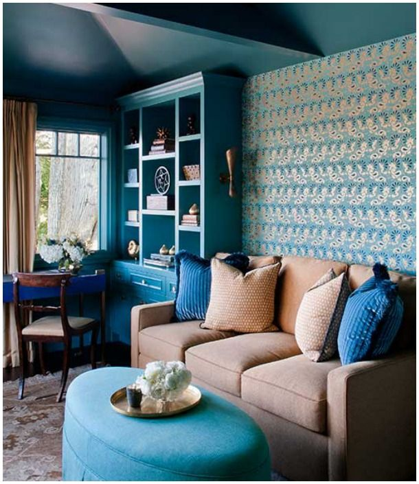 Good Looking Bedrooms In Turquoise Color Awesome: 105 Best Images About Color: Turquoise-Aqua Rooms I Love