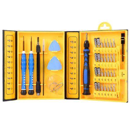 39 in 1 Screwdriver Set Repair Tools Kit for Mobile Phone PC and Table Repair
