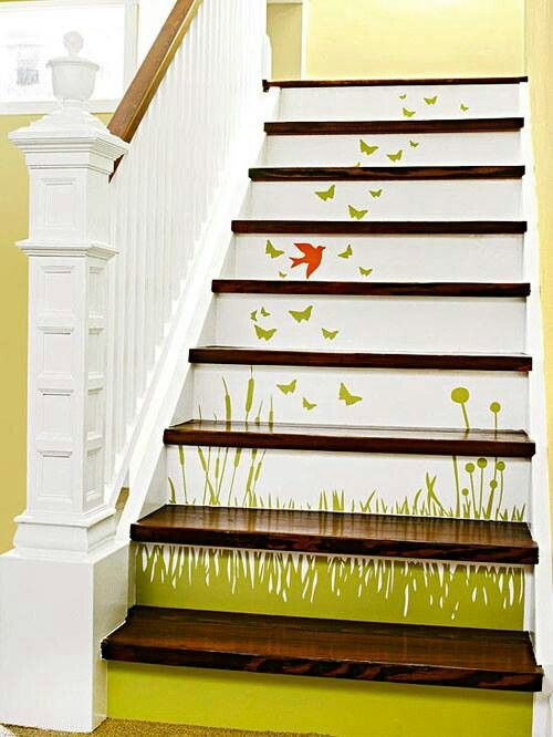 Top 25 best Paint stairs ideas on Pinterest Painting stairs