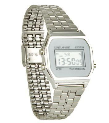 New Look Silver Digital Watch #jewelry #covetme