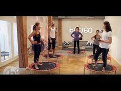 Lose weight with this Circuit Training: Rebounding with the bellicon - YouTube