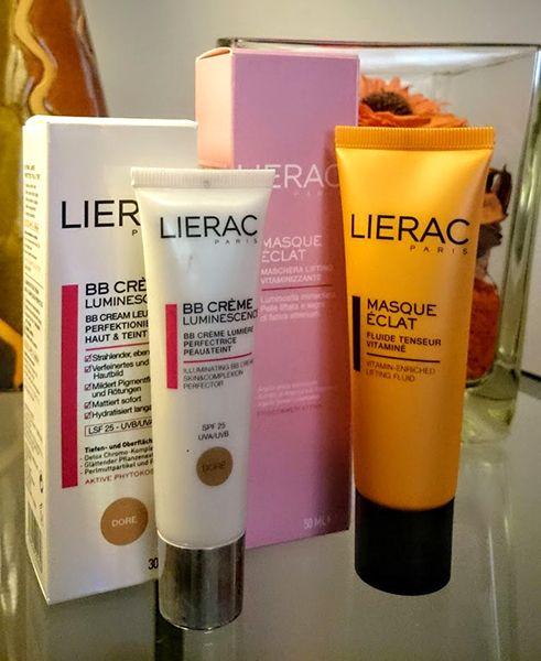 BB Creme Luminessance e Masque Eclat di Lierac