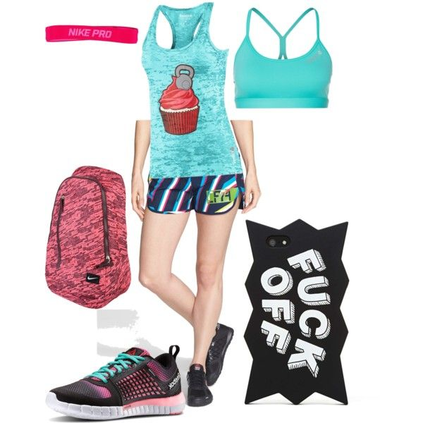 A fashion look from December 2014 featuring Reebok tops, Reebok activewear shorts and Reebok sports bras. Browse and shop related looks.