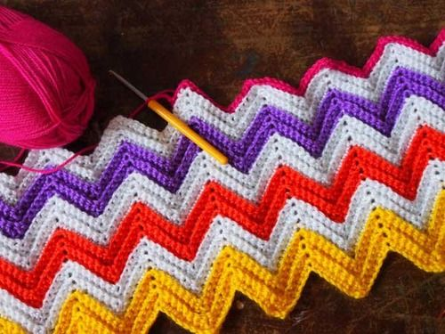 56 Best Images About Crochet Zigzag On Pinterest Free