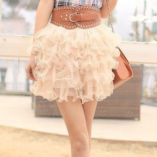 Lovely Skirt: Tutu Skirts, Ruffles Skirts, Princesses Dresses, Minis Skirts, Dreams Closet, Dresses Fashion, Fashion Style, Leather Belts, Cute Skirts