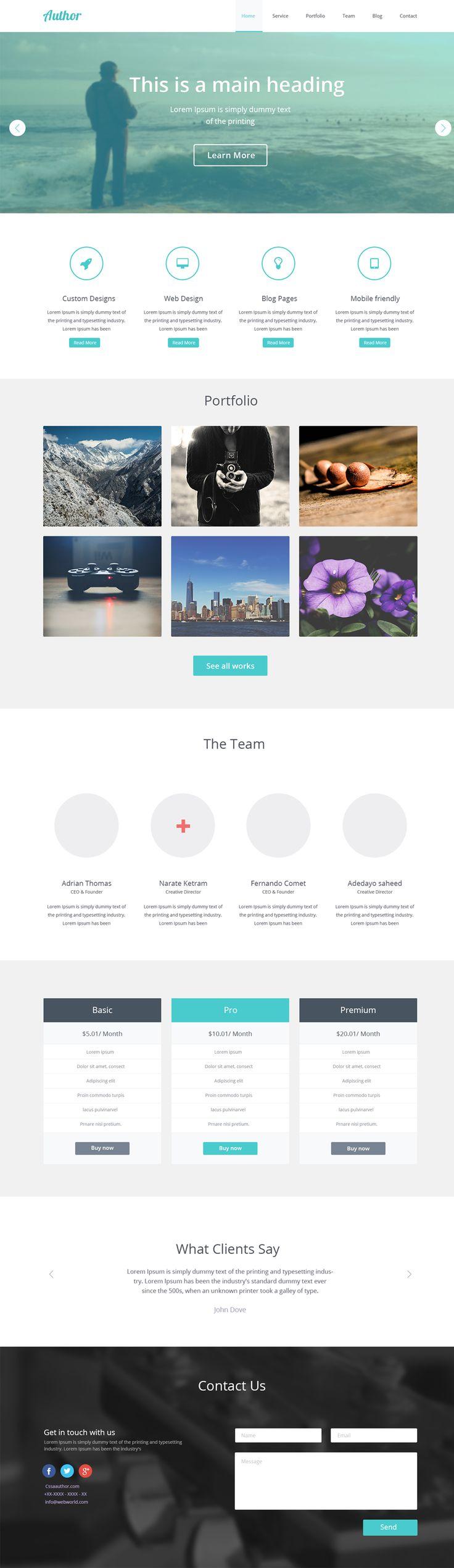 Free Agency Web Template PSD – Freebie No:129