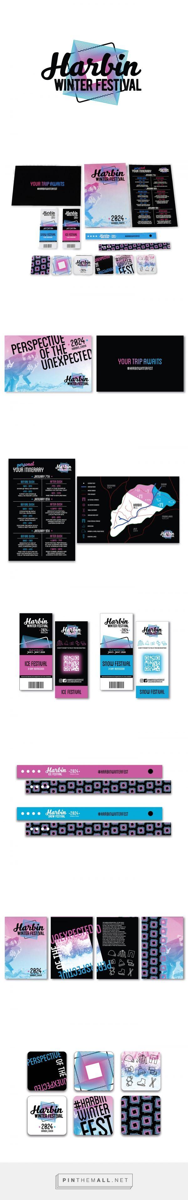 Harbin Winter Festival Event Branding by Lindsay Petschauer | Fivestar Branding Agency – Design and Branding Agency & Curated Inspiration Gallery