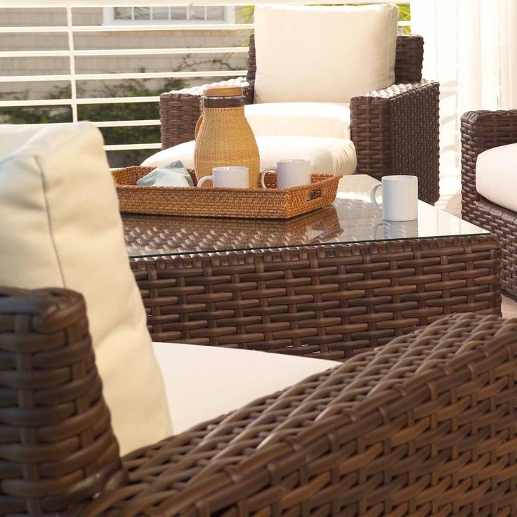Lloyd Flanders Contempo Coffee Table · Modern PatioOutdoor ...