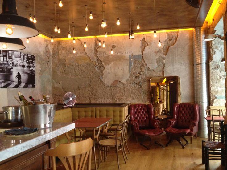 92 best images about bares restaurantes cafeter as on - Comptoir central d electricite perpignan ...