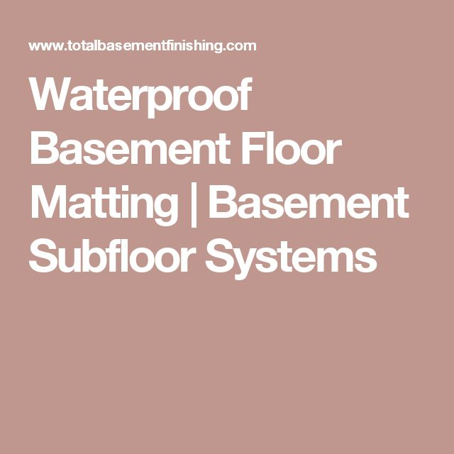Basement Renovation Dricore Subfloor Installation: 25+ Best Basement Subfloor Ideas On Pinterest
