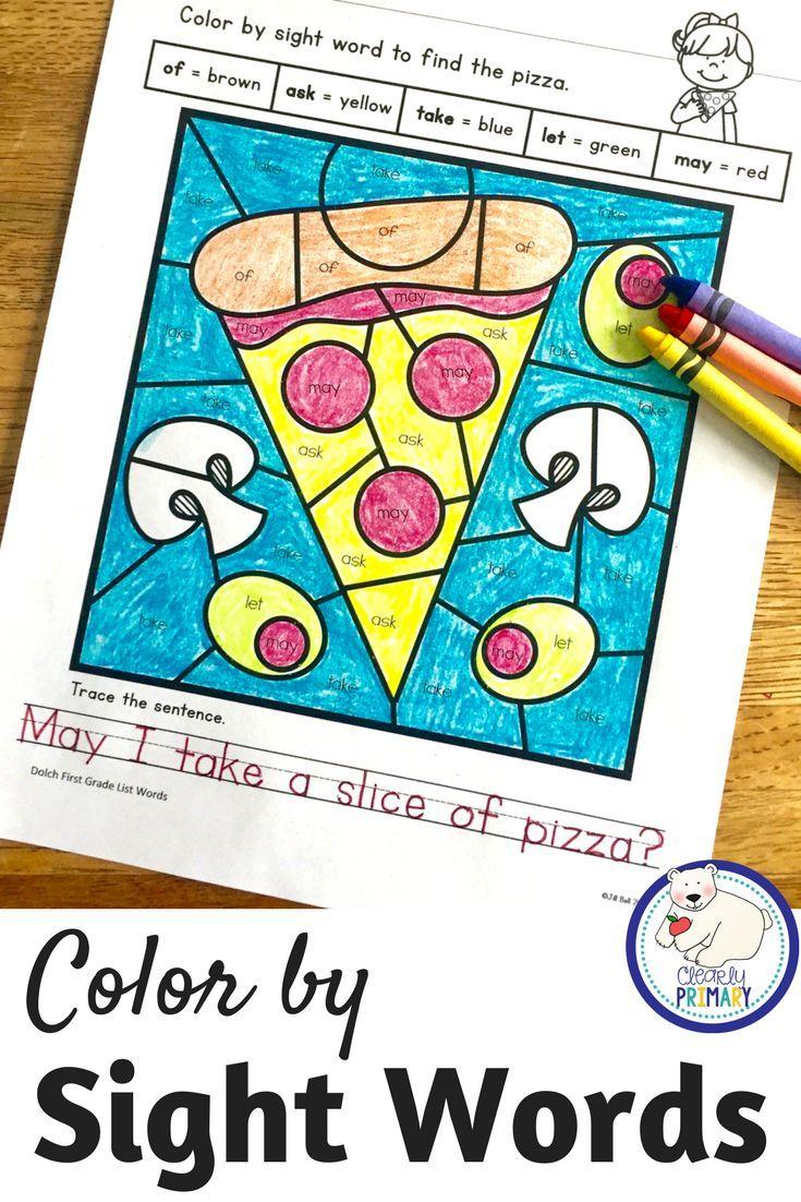 Color by Sight Word - Bundle | kinder | Pinterest | Sight words ...