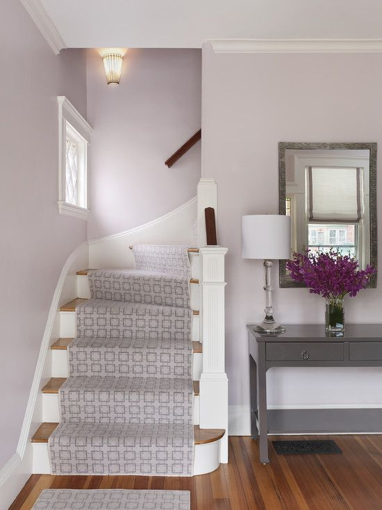 interesting geometric carpet on stairs Eclectic Spaces Design, Pictures, Remodel, Decor and Ideas - page 50