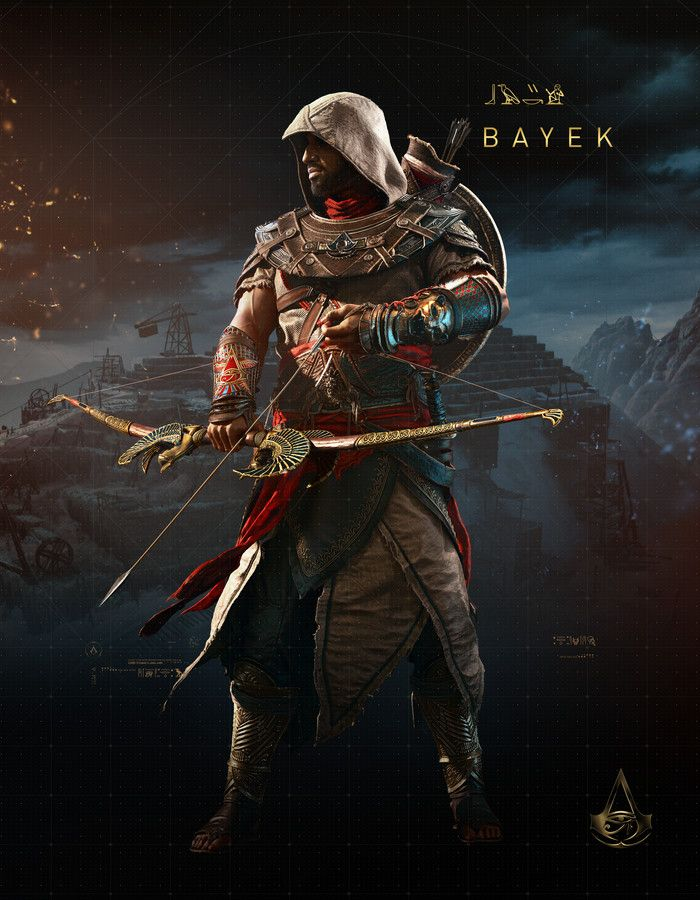 Assassin S Creed Origins The Hidden Ones Bayek With Images